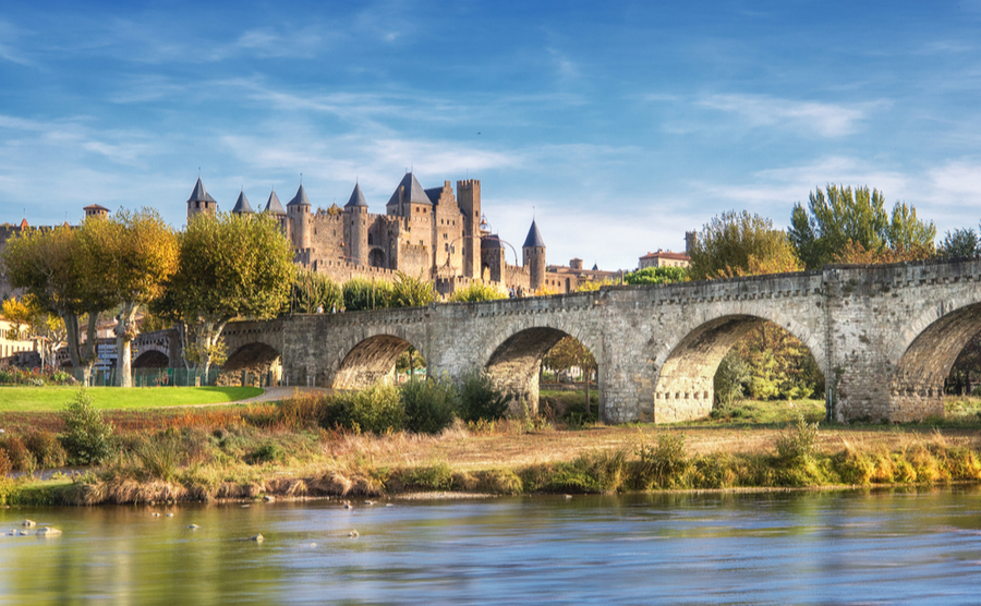 Carcassonne's instantly recognisable citadel.