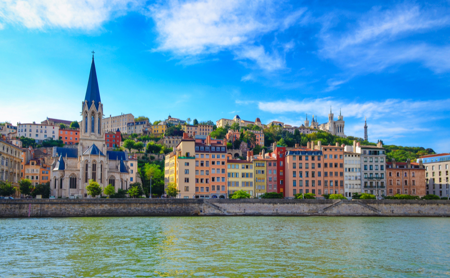 Lyon, France's gastronomic capital.