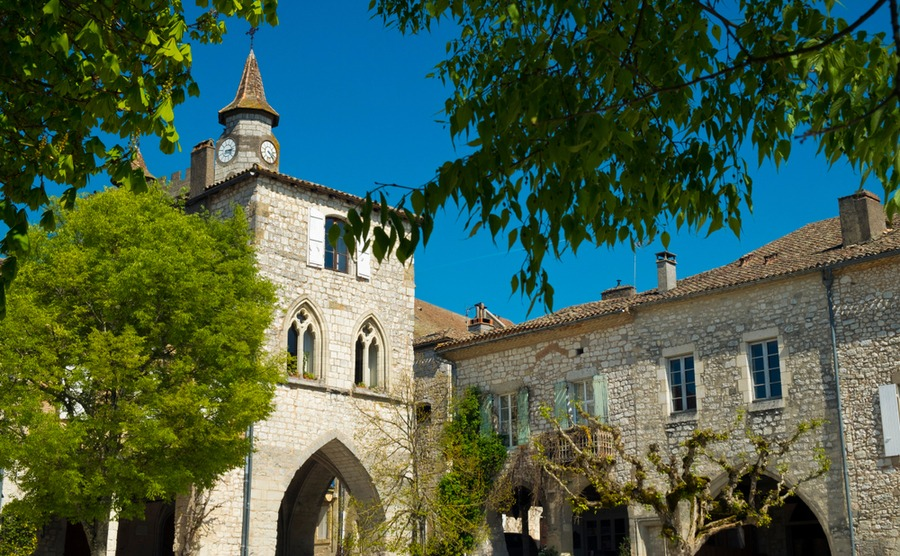 Many bastide towns, like Monflanquin, are fabulously preserved.