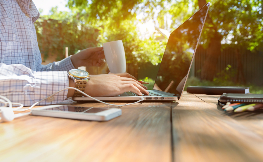 Can you work remotely from the French countryside?