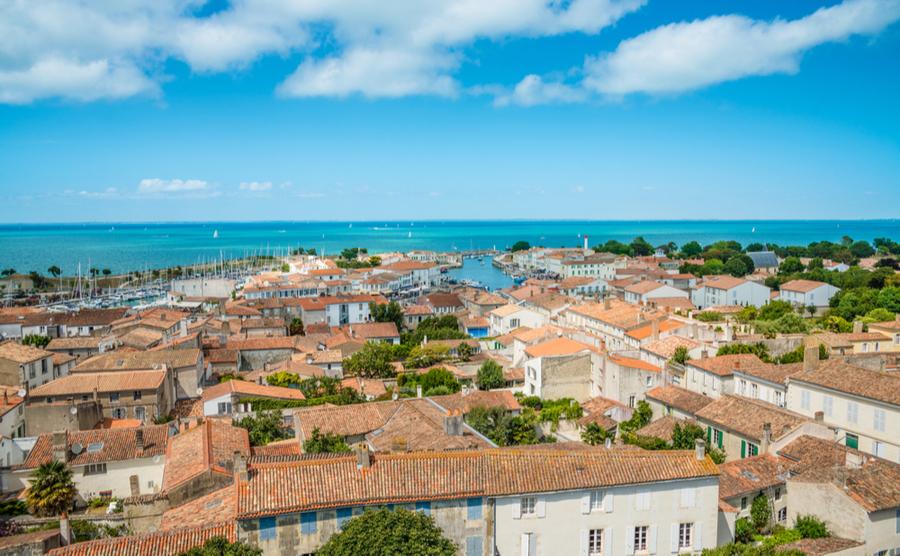 Saint-Martin on the Ile de Ré.