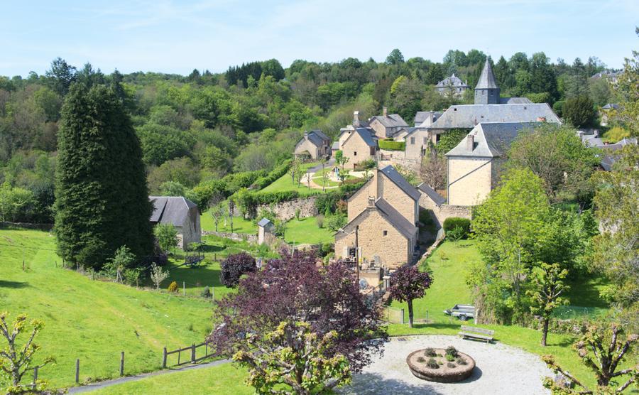 The village of Treignac.