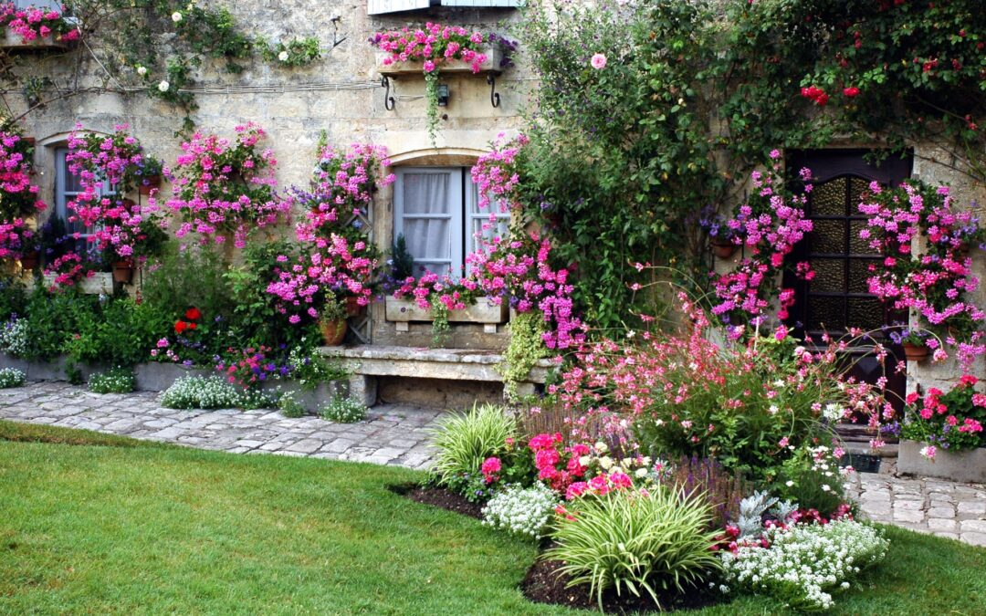 The art of gardening in France