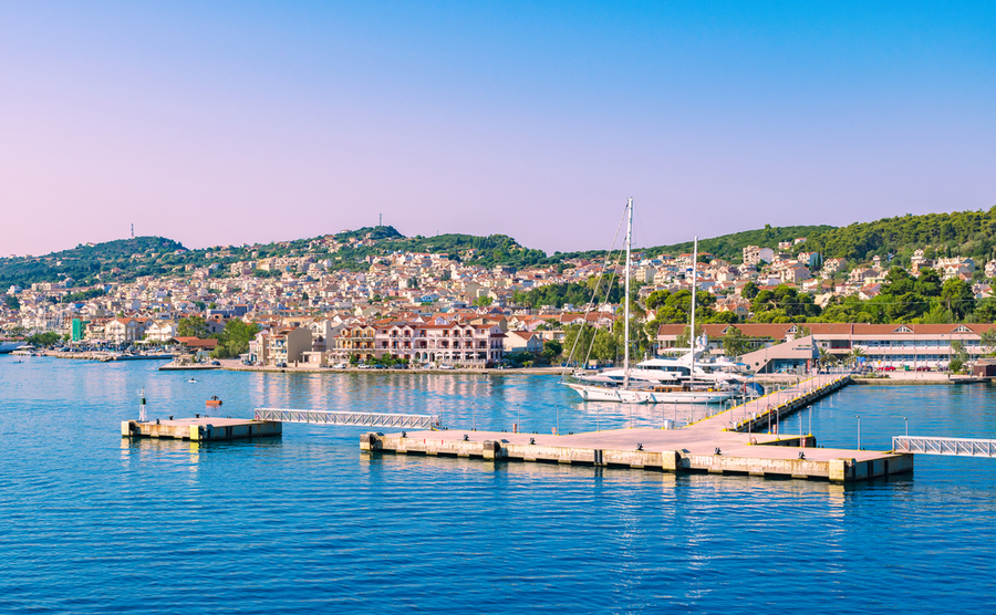 Argostoli is the capital and a popular place to buy property in Kefalonia