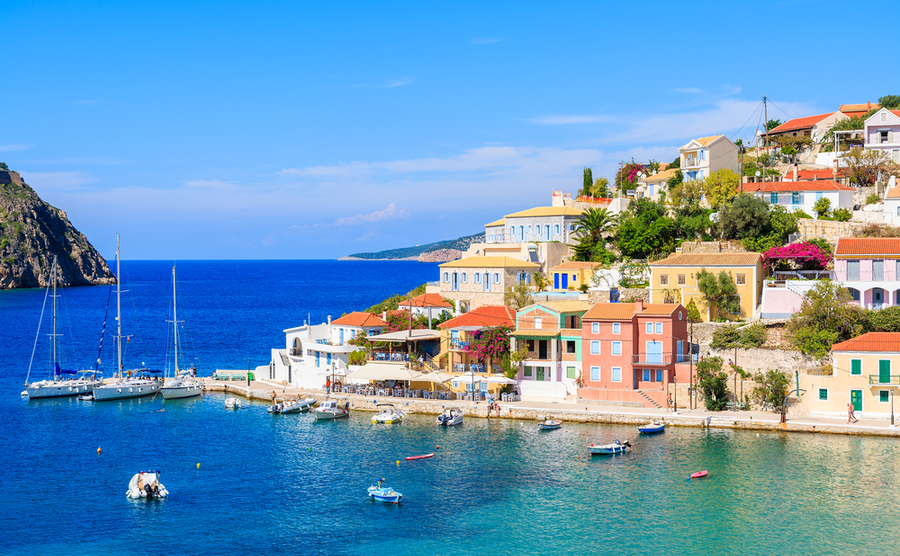Greece's property market is showing its strongest growth in 12 years.
