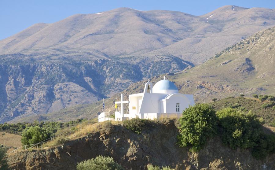 Mount Ida is Crete's highest mountain.