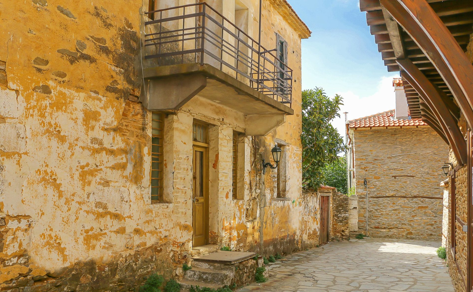 Polygyros has some of the cheapest homes in Greece, many built in traditional stone style.