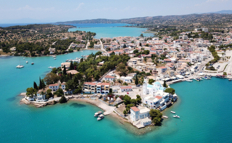 Porto Heli is a favourite of Greece's rich and famous.