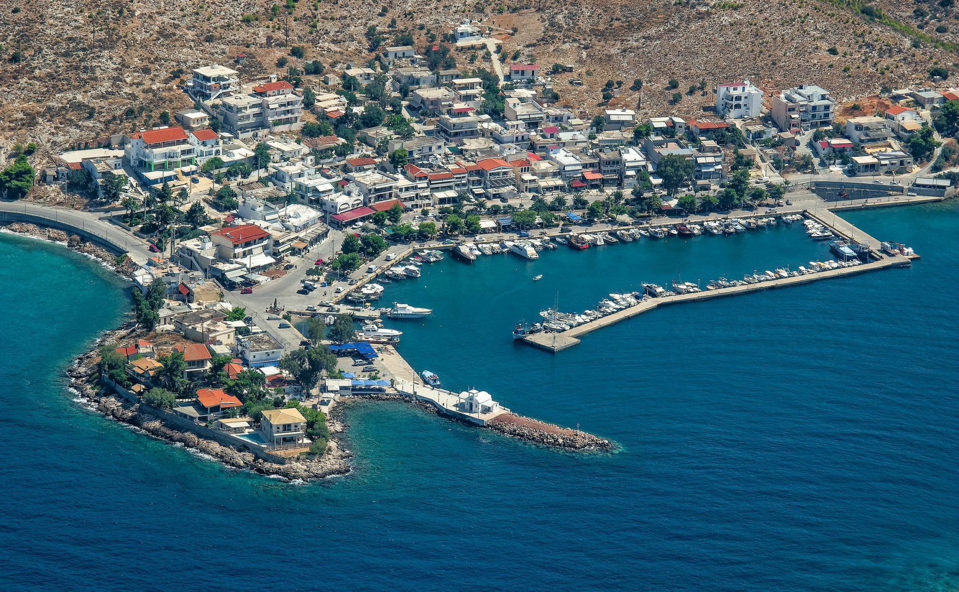 Pachi offers some of the cheapest homes in Greece for seaside living