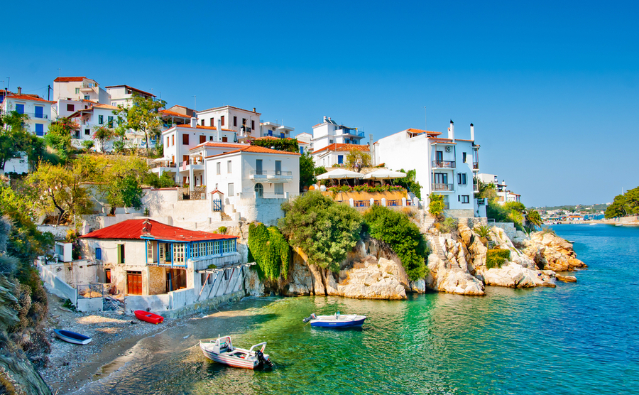 Skiathos, Greece. Could this be your perfect Greek property location?