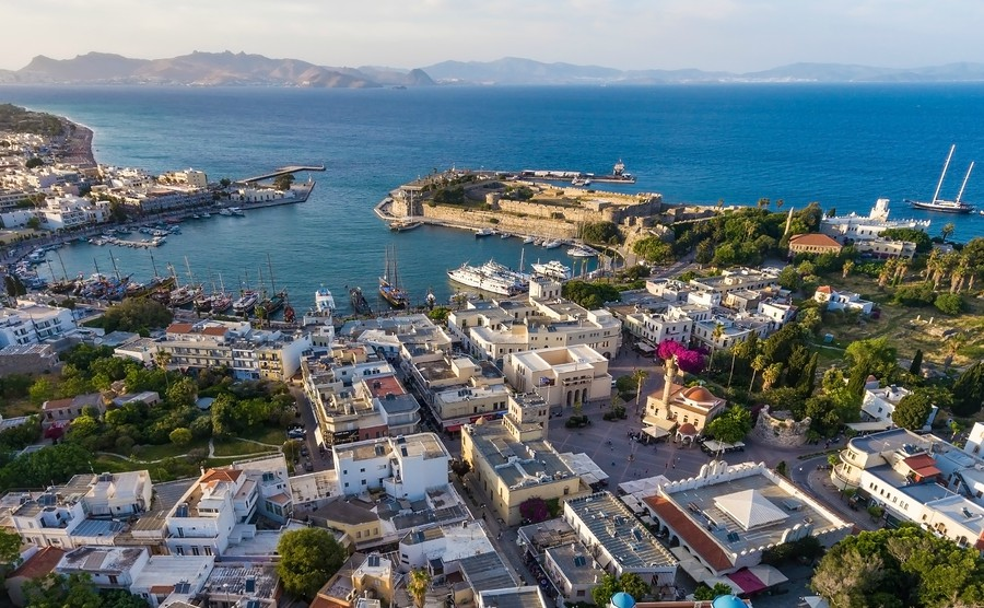 The eastern islands: Kos, Lesbos and Rhodes