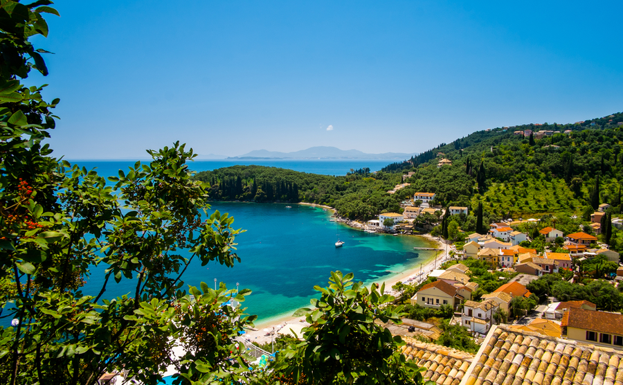 A postcard from Corfu