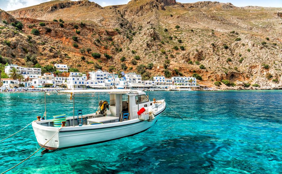 best Greek islands for sailing