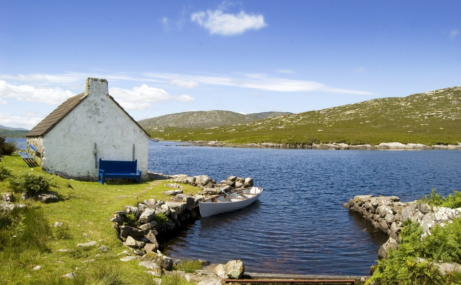 Connemara is a great location, with both the eponymous national park and the city of Galway in easy reach.