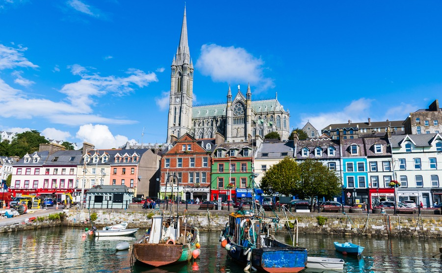 Cork City is vibrant and energetic, but also enjoys affordable property prices!