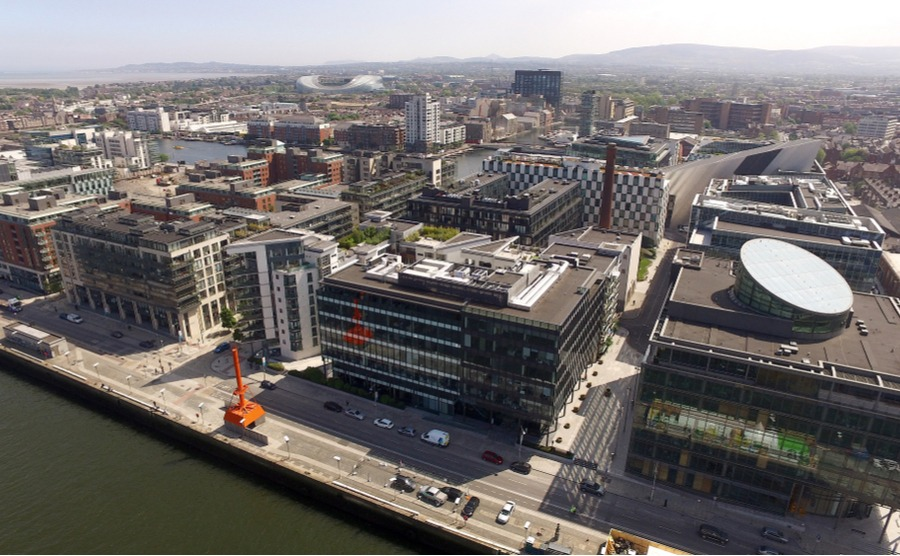 Many of Dublin's old dockland areas have undergone extensive renovation.