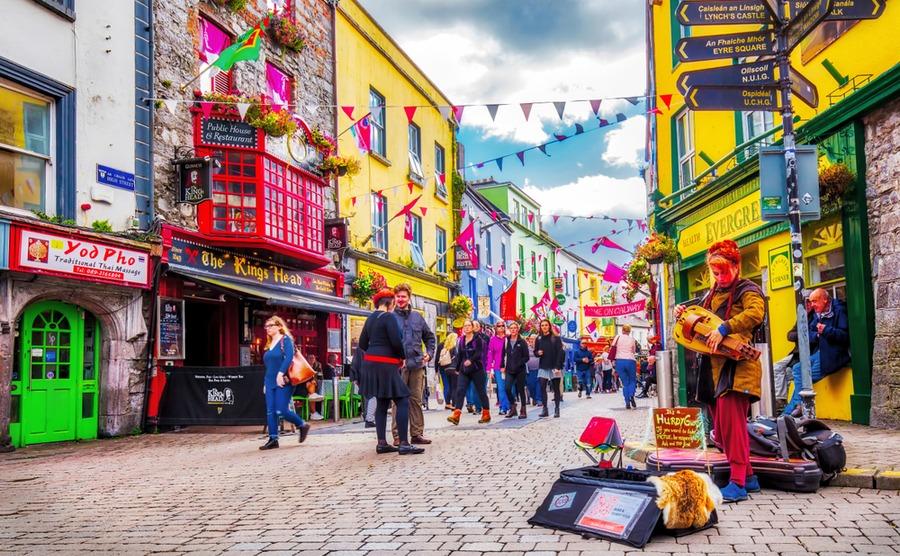 Galway is one of the most 'Irish' of Ireland's cities. C.Echeveste / Shutterstock.com