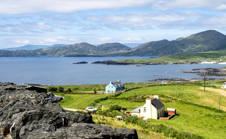 You can often get a lot more property for your money if you retire to Ireland instead of staying in the UK.