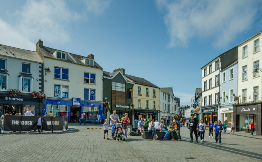 Waterford City is one of the best places to raise a family in Ireland. lembi / shutterstock.com
