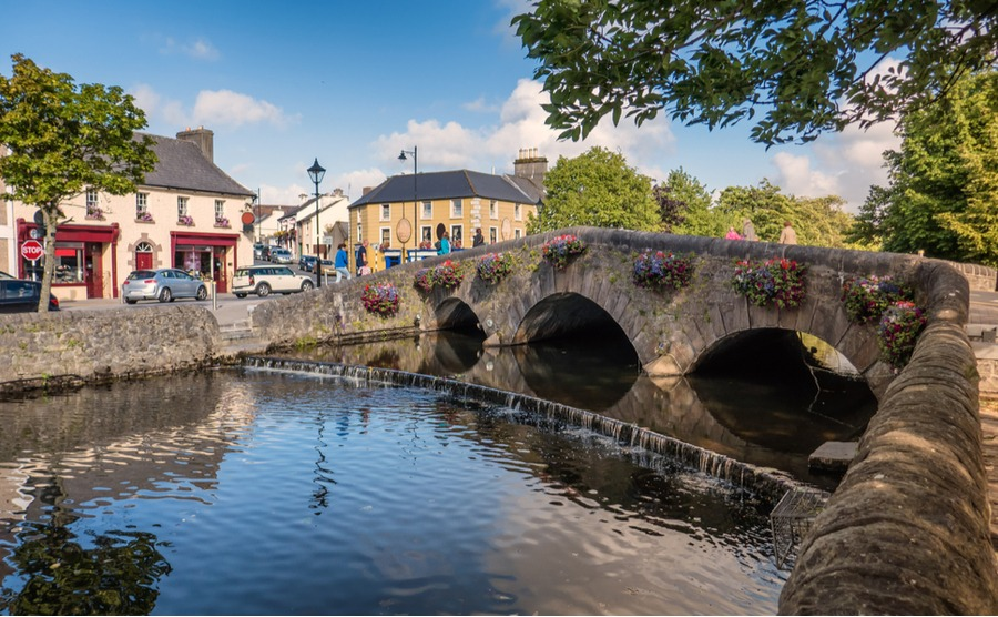 Westport in County Mayo is known as Ireland's 'Adventure Capital'.