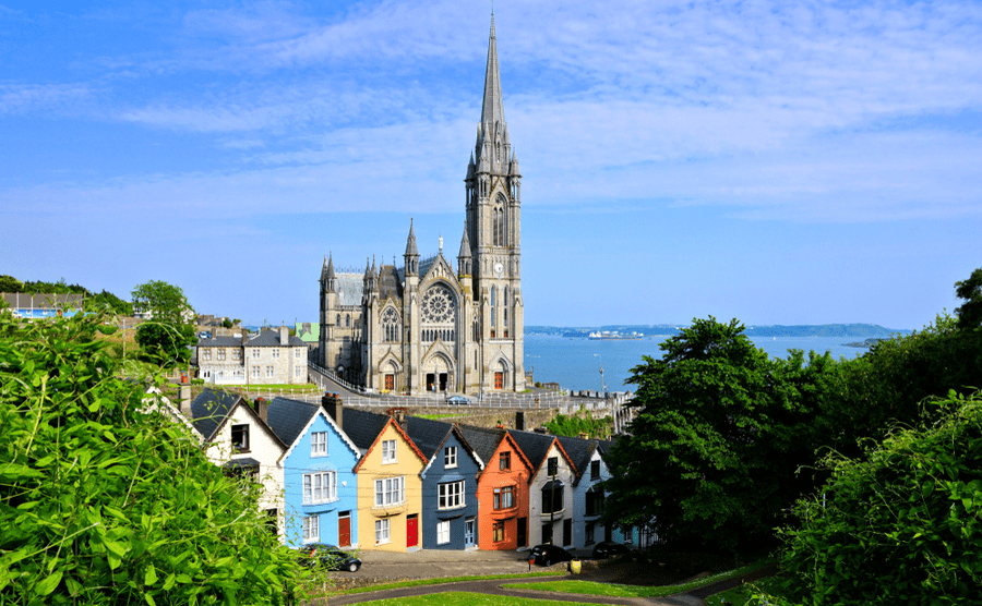 The famous seaside town of Cobh.