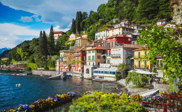 Italy - Varenna Town