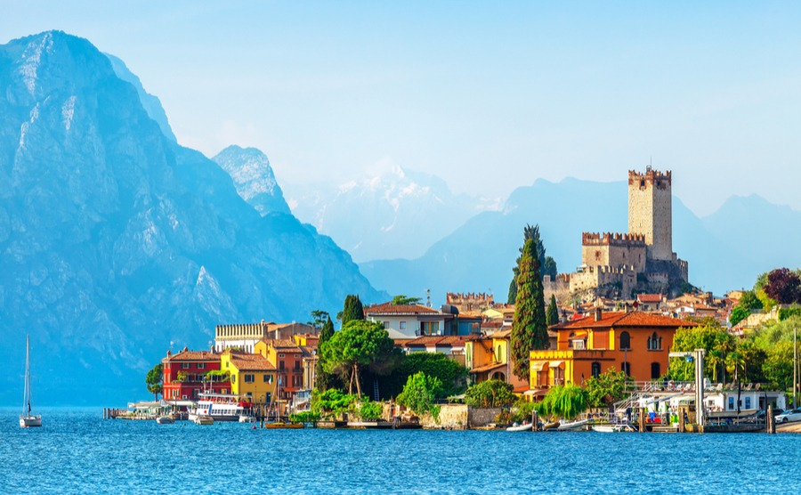Towns such as Malcesine are surrounded by stunning scenery and have beautiful historic centres. They are, however, some of the most expensive places to buy a home in the Veneto.