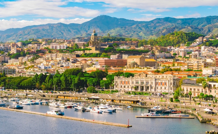 Messina is a stunning region to buy property in Sicily – and its climate is particularly warm and sunny.