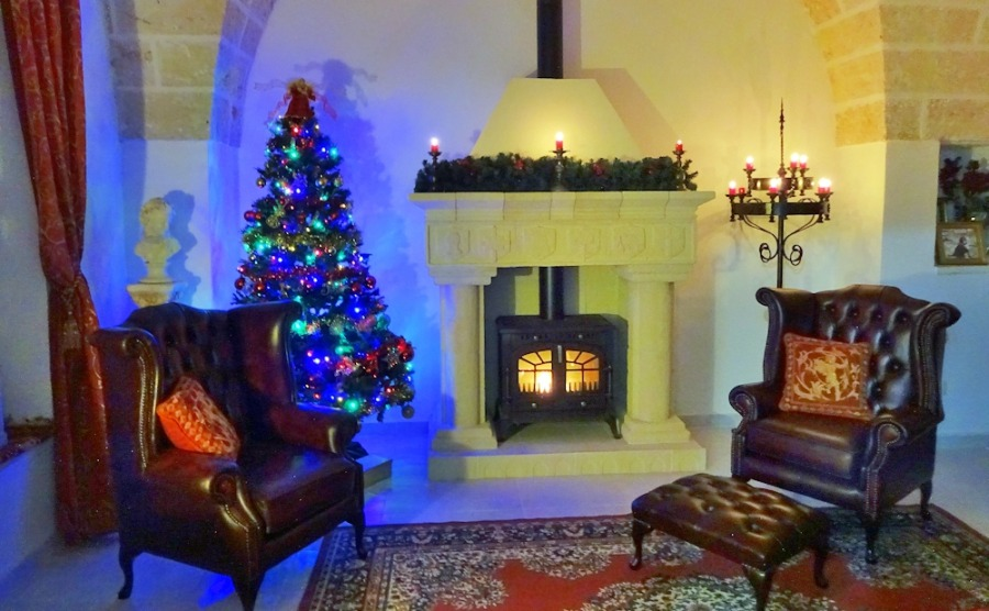Add a cosy touch to your home with a woodburning stove