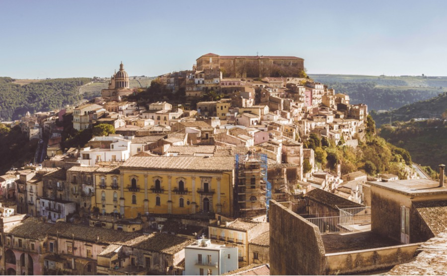 Ragusa is one of a network of eight stunning Baroque towns in southeastern Sicily.
