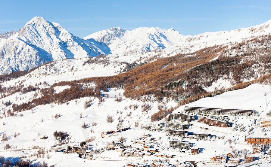 Sestriere, just a few hours' travel from London, is perfect for a ski apartment or chalet for weekend breaks.