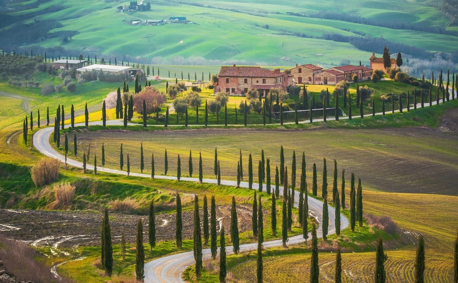 The property market in Italy is seeing prices grow in regions like Tuscany.