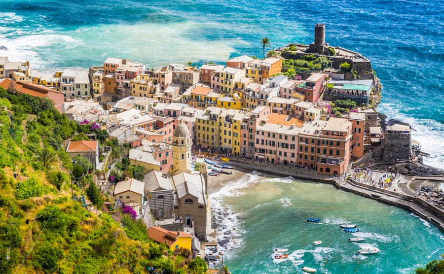 The number of buyers purchasing in Italy is on the rise.