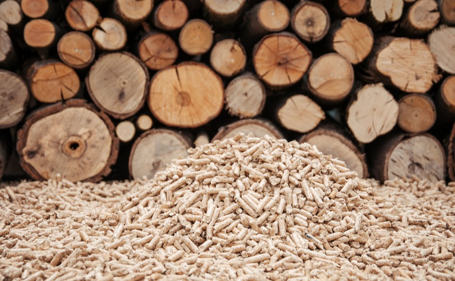 A wood pellet stove can be less hassle, but does require a bit of electricity.