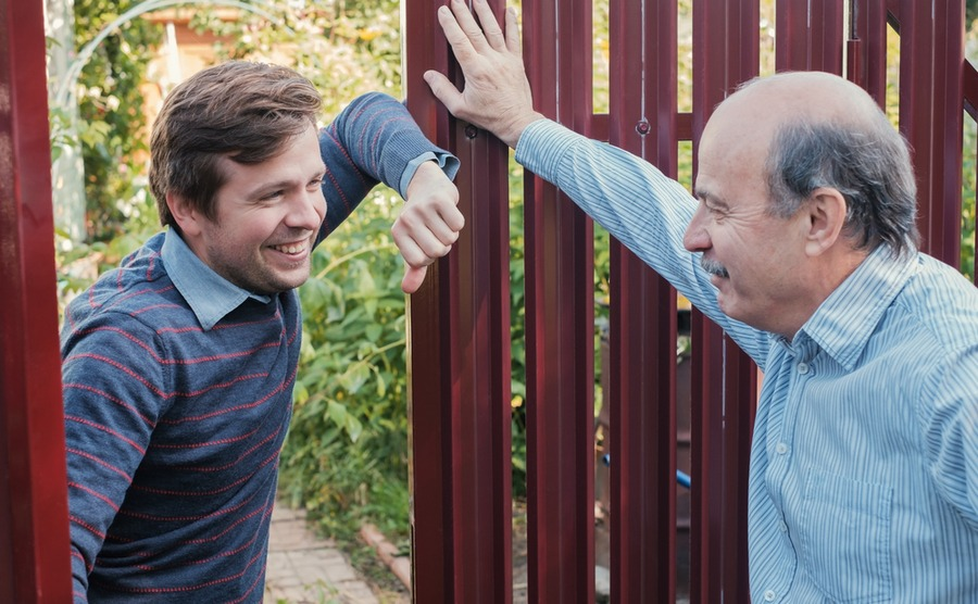 A good neighbour will be one of your best contacts in Italy