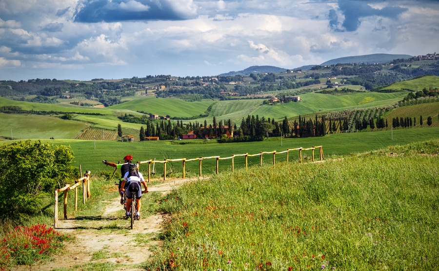 Cycling for A healthy lifestyle in Tuscany