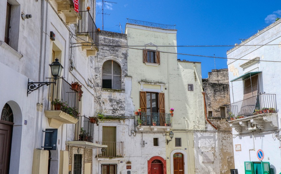 Grottaglie is a fantastic spot to buy a period property in Apulia.