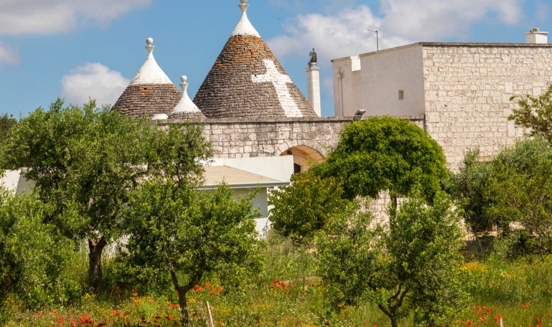 """We loved our trulli so much we bought the villa next door too!"""