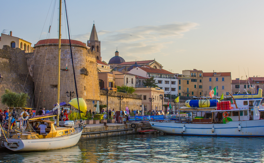 Central Alghero is something of a tourist Mecca. yu-jas / Shutterstock.com