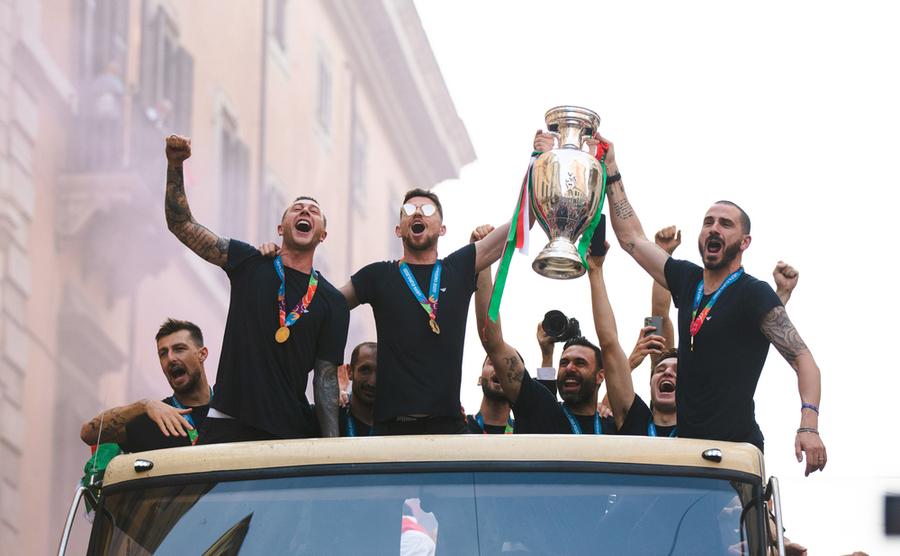 Italy's sensational summer, 2021