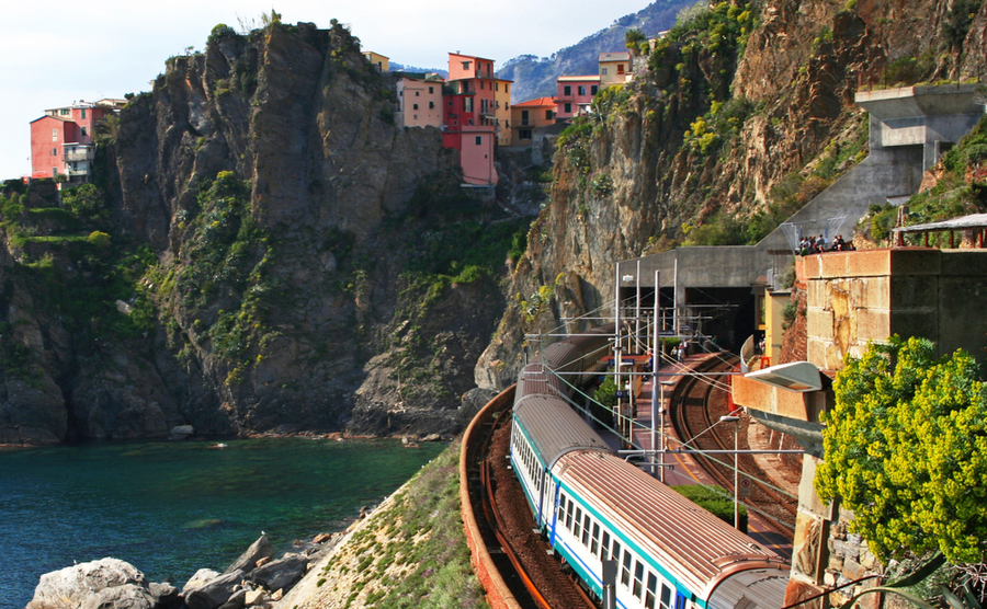 Beautiful Italian villages you can reach by train