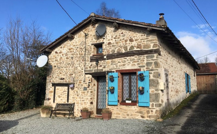 Cosy character home in Bellac, near Limoges, €94,600. Click on the image to view the property.