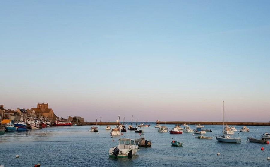 The view of Barfleur harbour that I fell in love with.