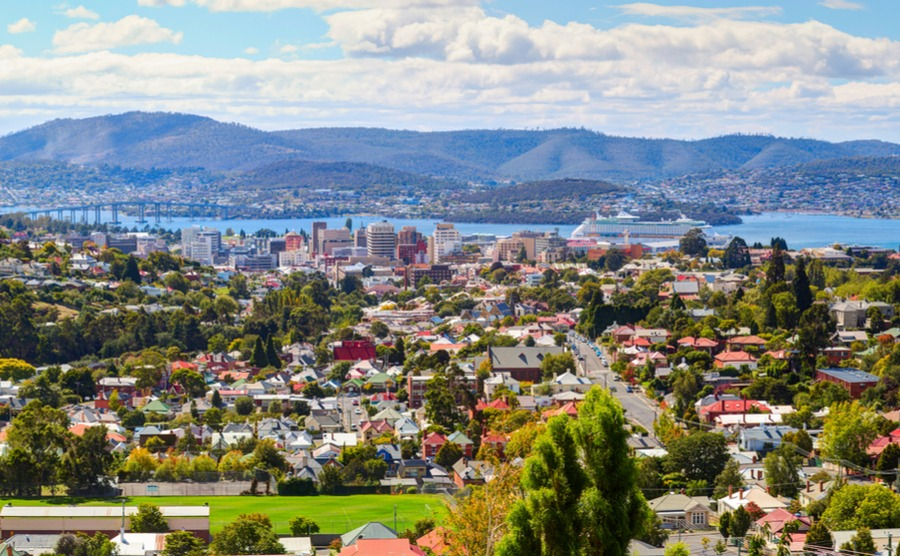 Hobart is one of the best performing sectors of the property market in Australia in 2019.