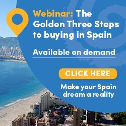 The Golden Three Steps to buying in Spain Webinar, 20/07/17