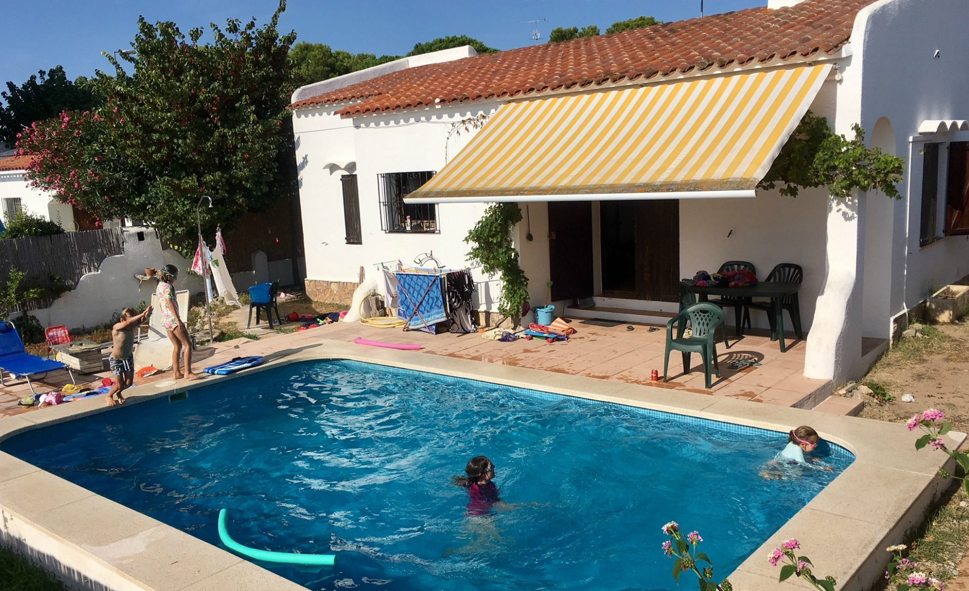 The family holiday home in Costa Brava