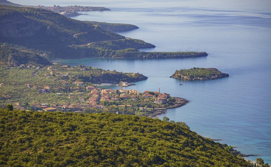 Stoupa is a fantastic part of the Peloponnese to buy a seafront home.