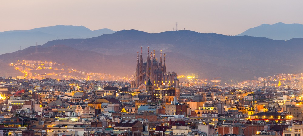 Three graceful cities of Spain