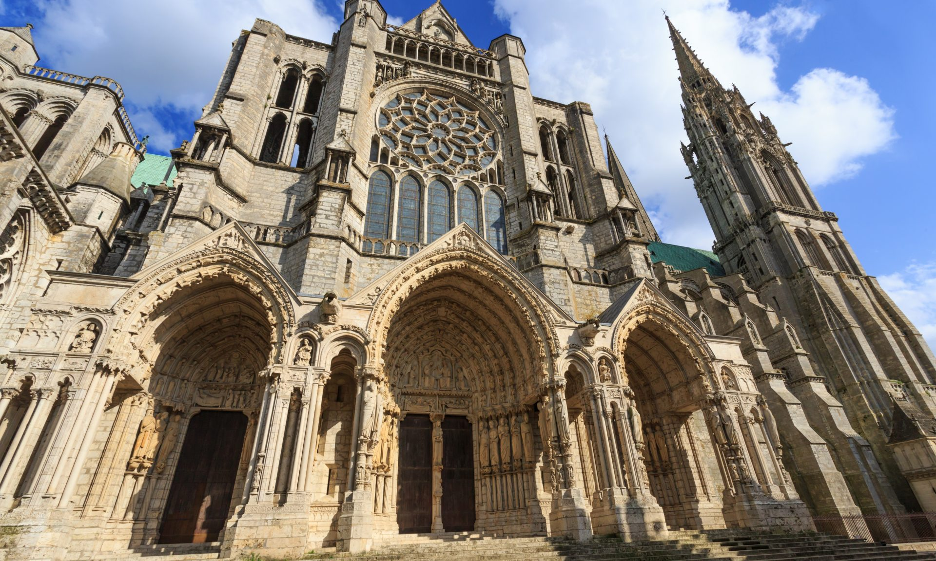 The Chartres Cathedral is a UNESCO World Heritage Site.