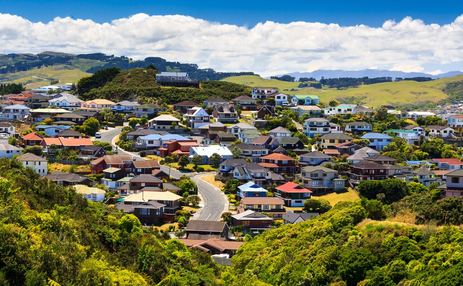 New Zealand property prices remain high but growth has slowed.